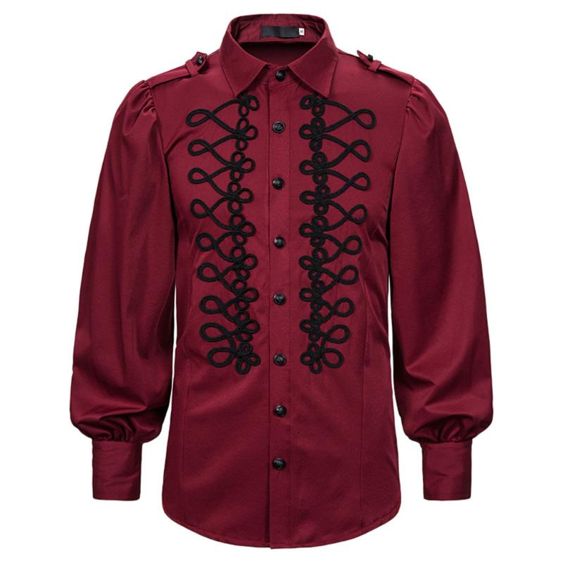 VZEXA Mens Shirt Cotton Blend Solid Short Sleeve Tops Button Retro T Shirts