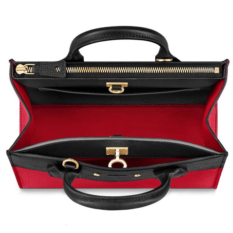 LouisVuitton/Louis Vuitton handbag CITY STEAMER PM leather shoulder slung handbag M54868