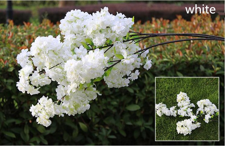 beautiful dogwood branches in large glass vase beautiful.htm 2020 1m long four branches each bouquet simulation cherry blossom  four branches each bouquet simulation