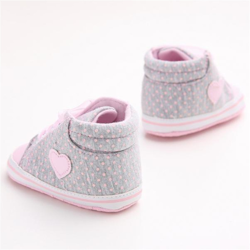 Baby Shoes For Girls Toddler Baby Girl Canvas Heart shape Sneaker Anti-slip Soft Sole Shoes Baby First Walker Shoes M8Y10 (3)