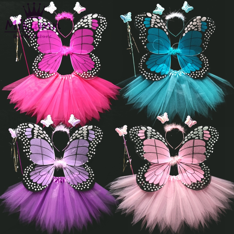 Butterfly Fairy Dress Up Simulation Butterfly Wings Performing  Wings Props Hot