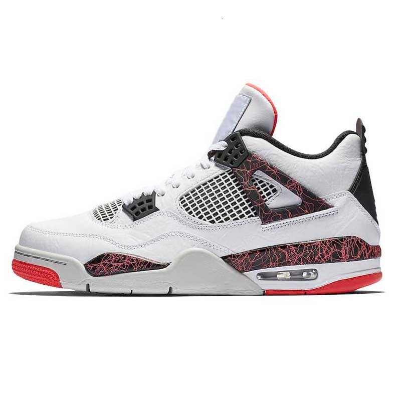 4s Hot Punch Pink Lava Pale Citron mens womens basketball shoes IV Singles Day Royalty Pure Money Raptors bred Thunder Outdoor designer shoe