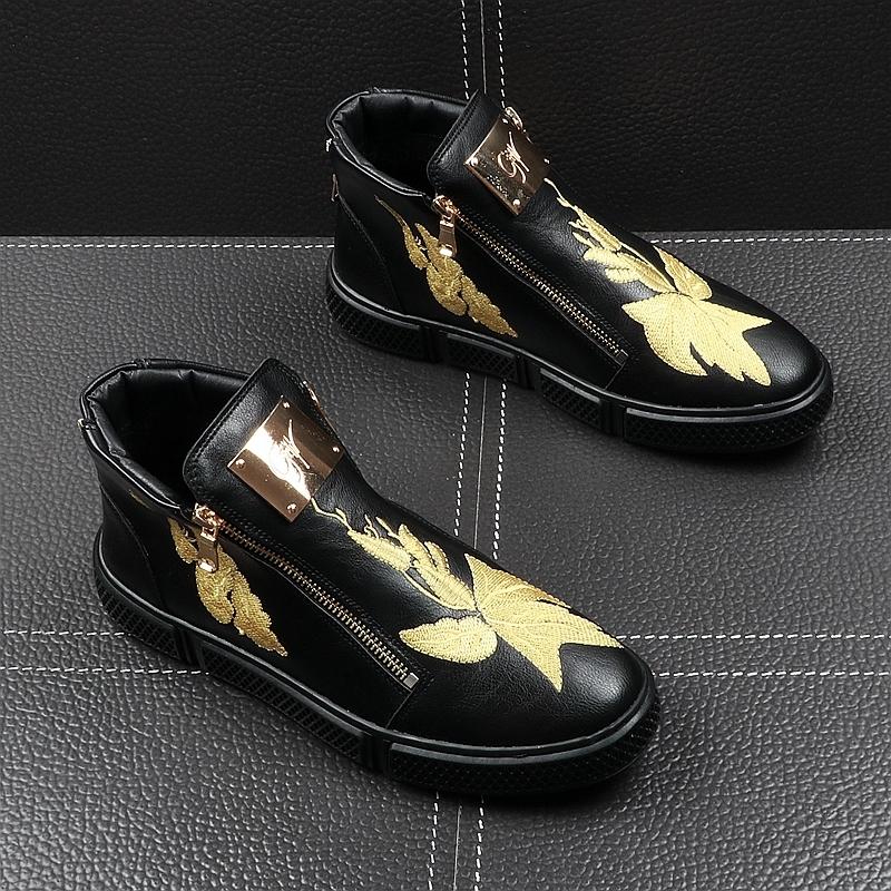 Memorable2019 Мужская летняя весенняя короткая толстая подошва в увеличенном ботинках Martin Hip-hop High Shoes. Свободное время в помощь Скейт обувь