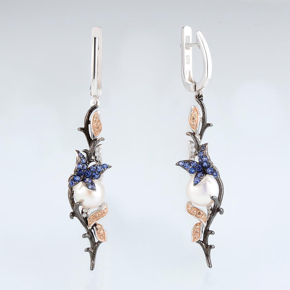 E307634MULSV925-SV1-Silver Earrings-