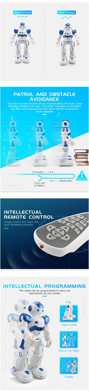 RC Robot Intelligent Programming Remote Control Robot Toy-3