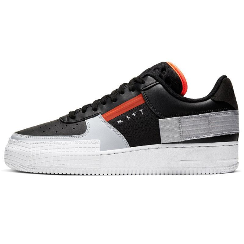 Top Quality Off MCA 2020 Type N354 Running Skate Shoes Shadow Mens Womens ALL Black Skeleton Outdoors N.354 Trainers Silk Sports Sneakers