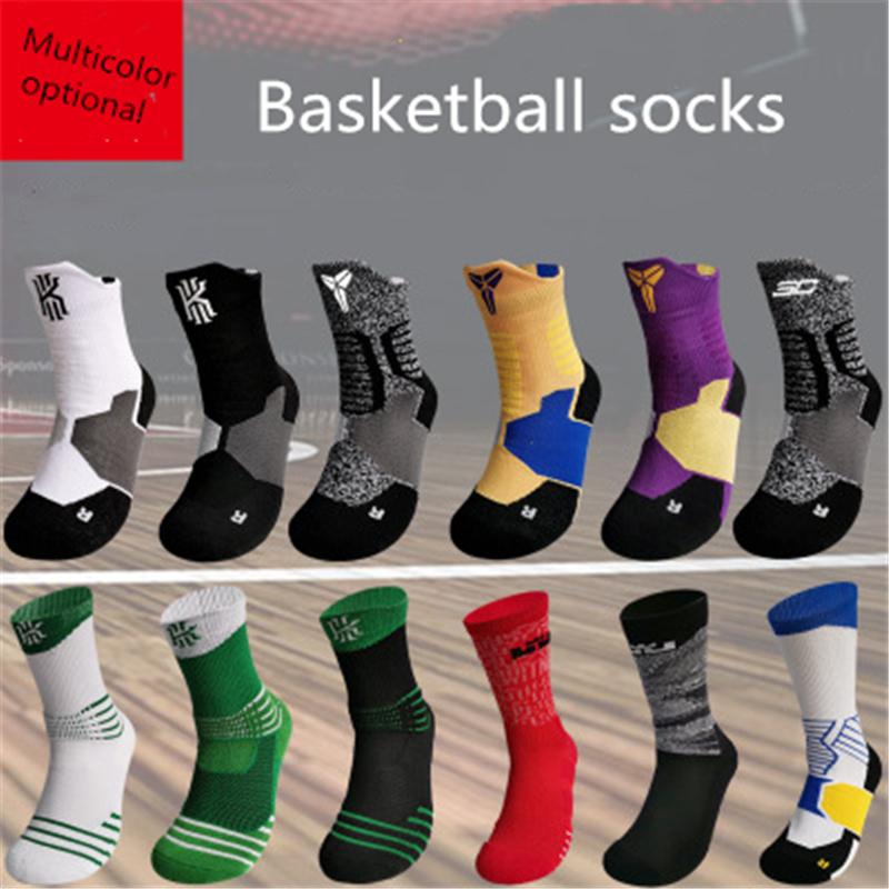 negro y gris Elite F/útbol calcetines deportivos Calcetines sudor absorbente calcetines largos del tubo 1 par de calcetines respirables de los hombres el rendimiento atl/ético