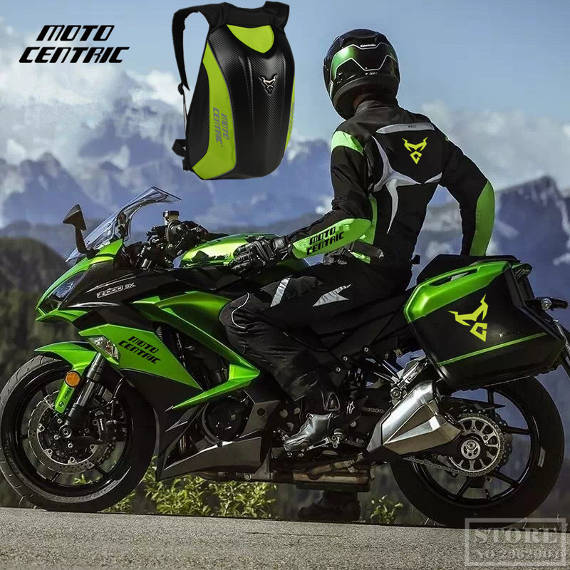 2019 Zaino moto in fibra di carbonio Impermeabile Tour rigido Borsa da viaggio Borsa multifunzione Borsa a tracolla doppia computer Dain Yamaha OGIO