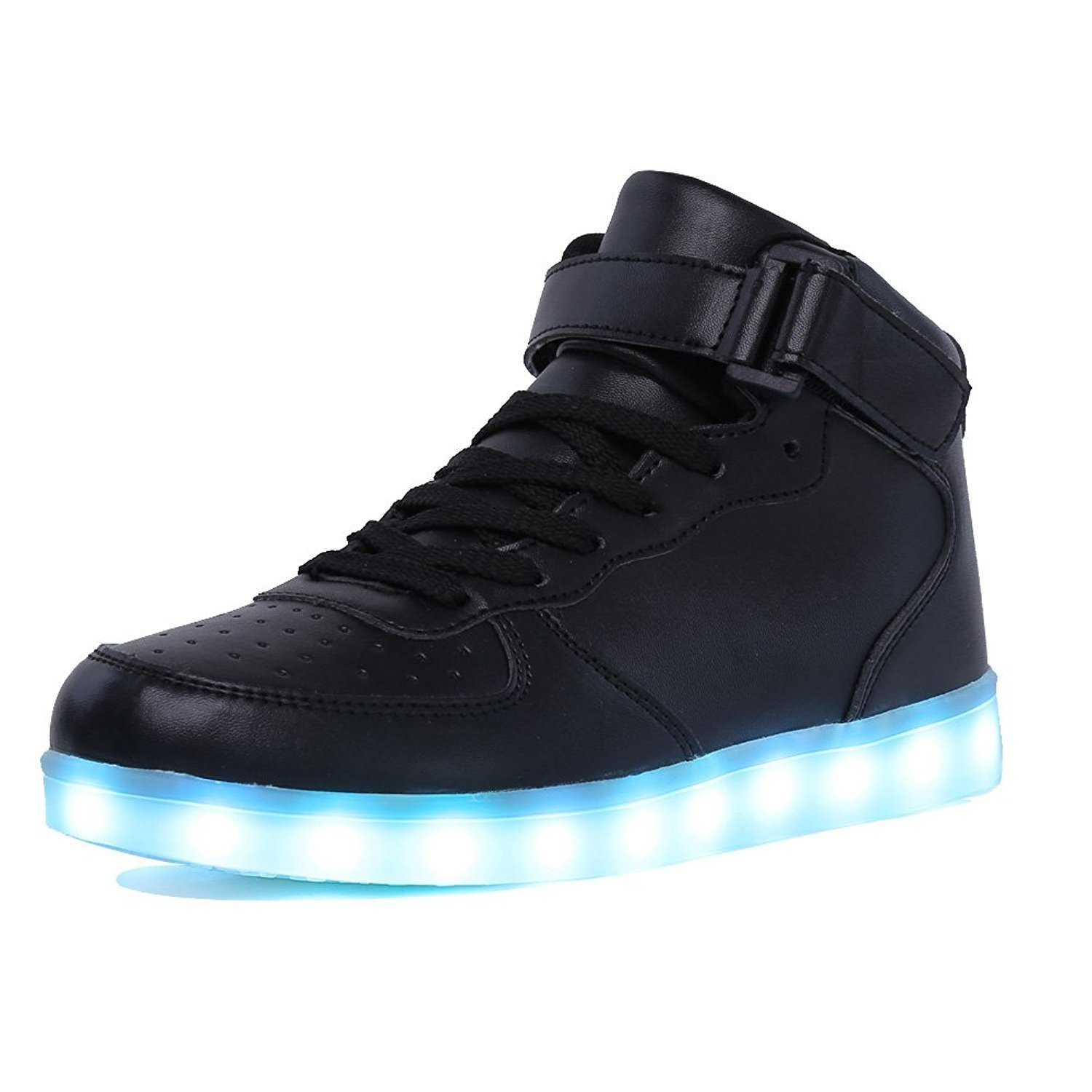 Kriativ Adult&kids Boy And Girl's High Top Led Light Up Shoes Glowing Sneakers Luminous Sole Sneakers For Women&men Y190525