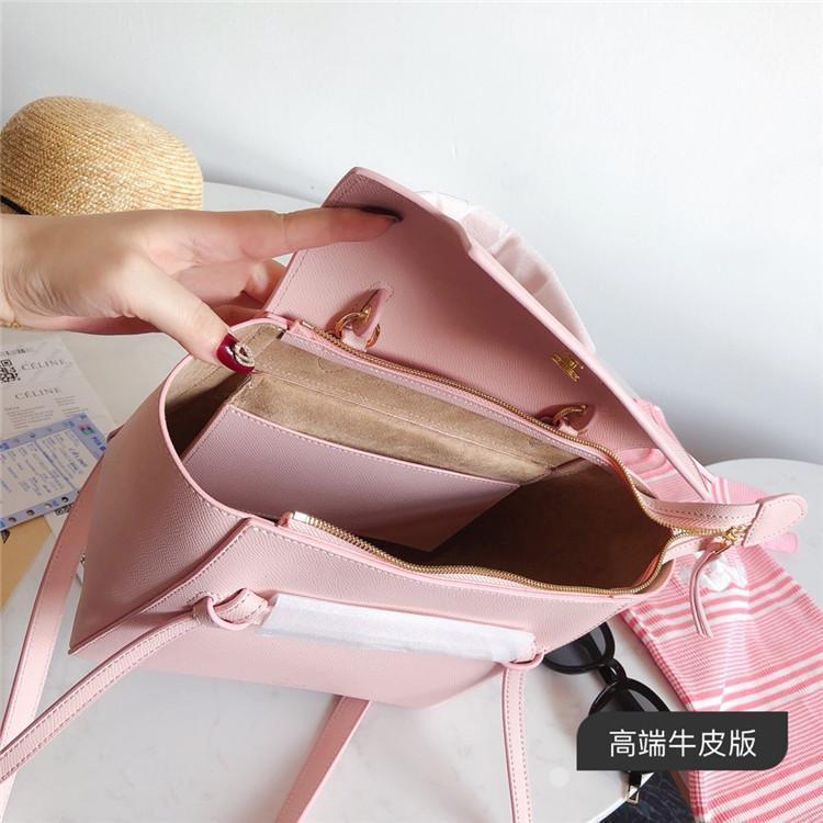 Designer 2019 Brand Fashion Hobo Luxury Designer Belt Bag Crossbody Handbags Purses Women Genuine Leather Shoulder Bags