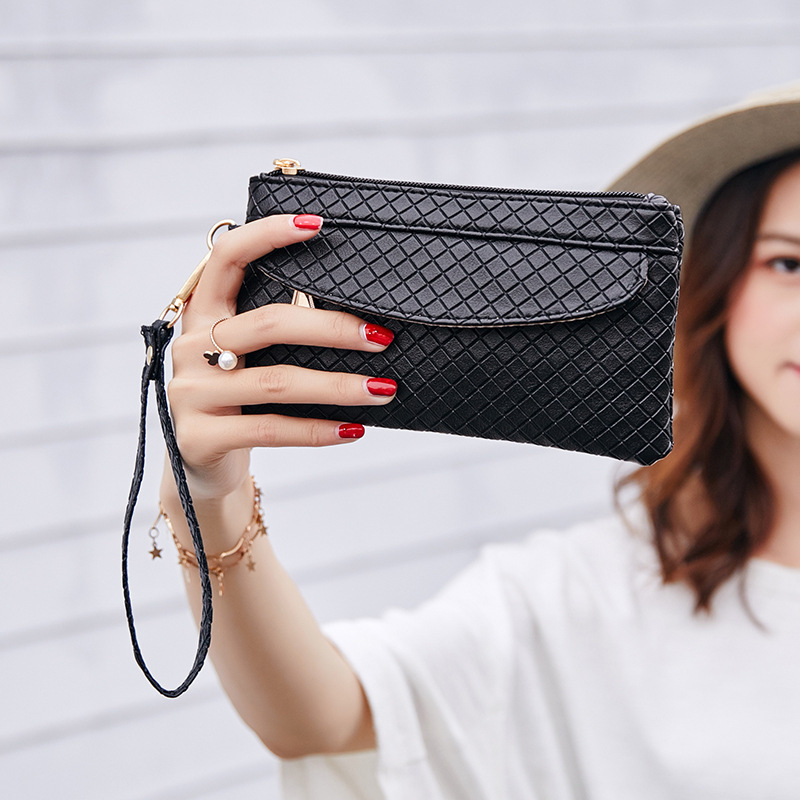 Decent2019 Take More Function Mobile Phone Woman Mini- Packet Hand Catch Small Change Package Concise Bag