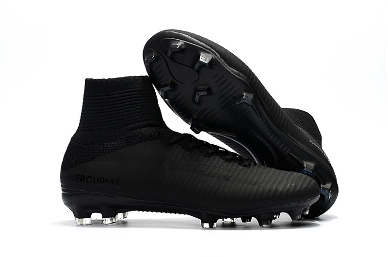 Children White Gold CR7 Soccer Cleats Mercurial Superfly Kids Soccer Shoes High Ankle Cristiano Ronaldo Mens Womens Football Boots