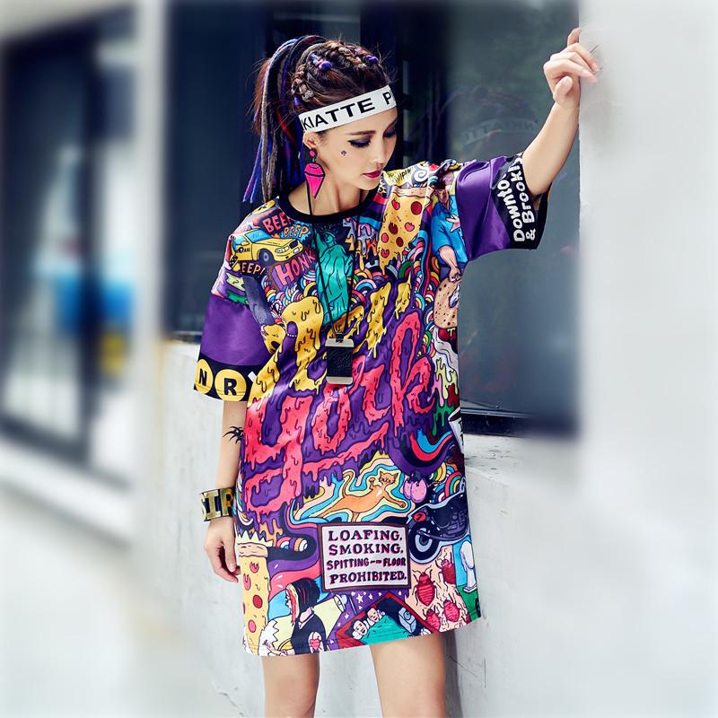 women hip hop T shirt