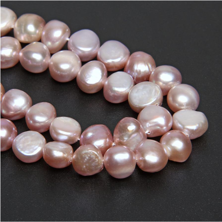 Nuevo Mayoreos natural de agua dulce perla granos flojos púrpura 5-6mm 14.5 pulgadas STRAND