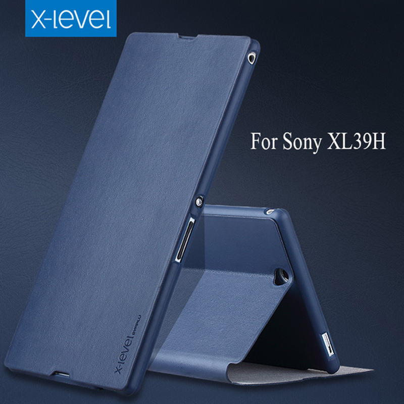 X-Level-PU-Leather-Case-For-Sony-Xperia-Z-Ultra-XL39H-Luxury-Stand-Cover-For-Coque