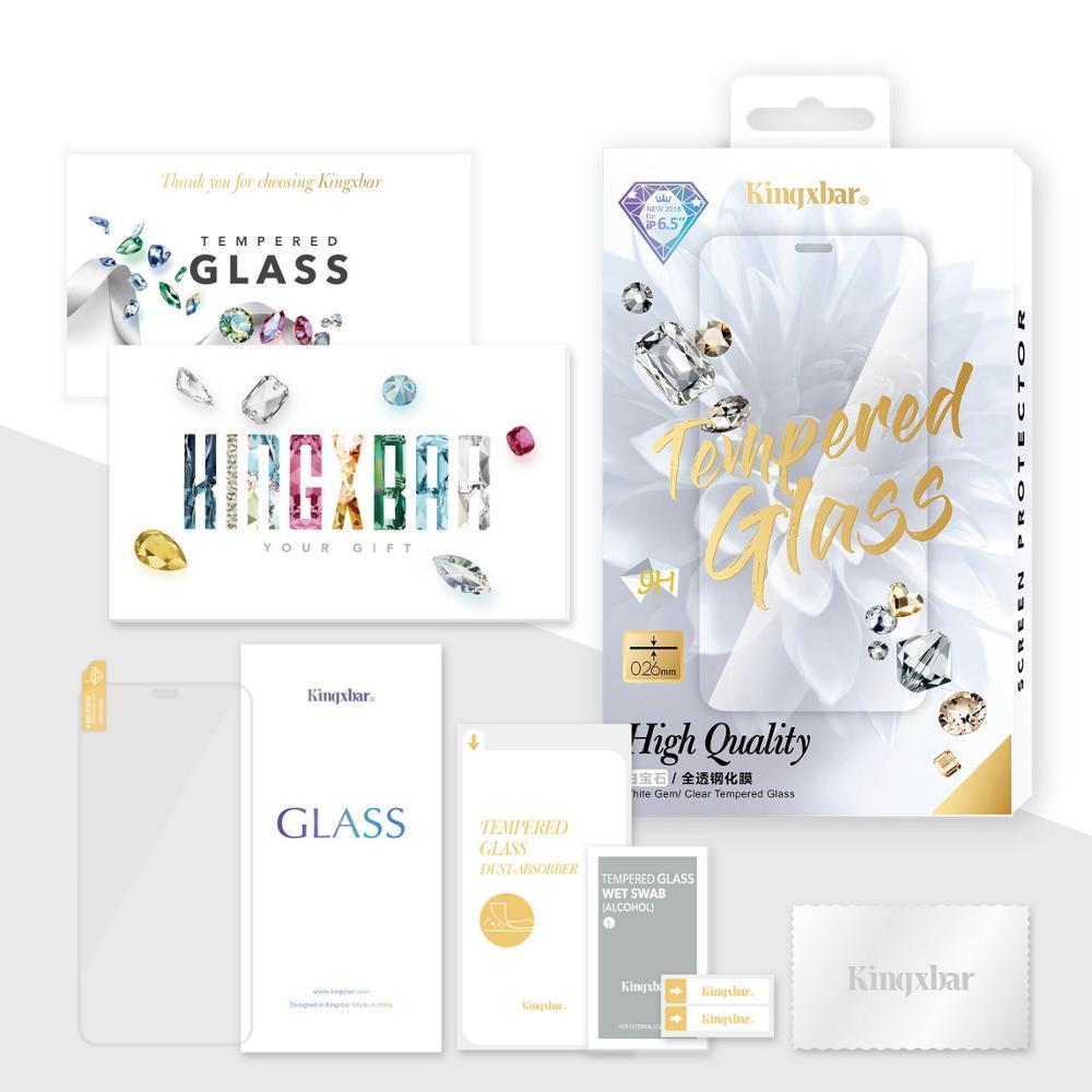KINGXBAR for iPhone Xs Max Glass Full Protection for iPhone Xs Tempered Glass Screen Protector for iPhone Xs Max Protector Film (9)