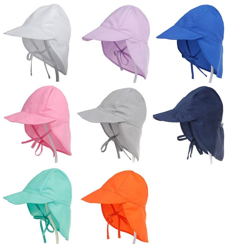 Spf 50+ Sun Adjustable Summer Cap For Boys Travel Beach Baby Girl Hat Kids Infant Accessories Children Hats S/l C19041302
