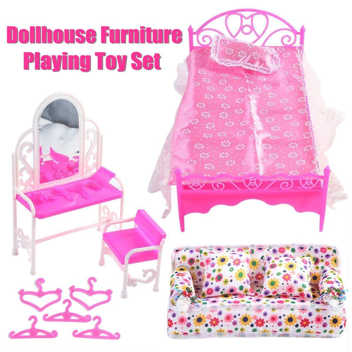 Großhandel Diy Miniatur Puppenhaus Kit Handgemachte Kinder Handwerk Spielzeug Schlafzimmer Modell Mädchen Geschenk Geburtstag Urlaub Geschenk Für 7 14