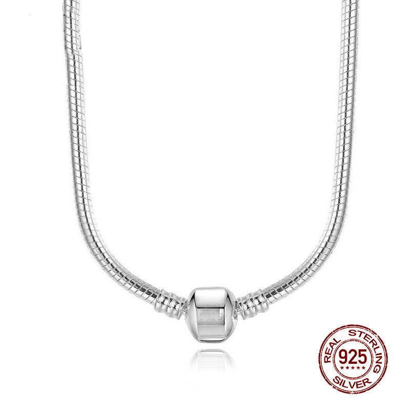 STERLING SILVER BALL CHAIN 16 18 20 BEAD DOG TAG PENDANT NECKLACE BRACELET 925