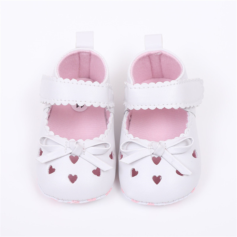 FashionNewborn Infant Baby Girls Crib Shoes Soft Sole Anti-slip Sneakers Bowknot Shoes NDA84L16 (12)