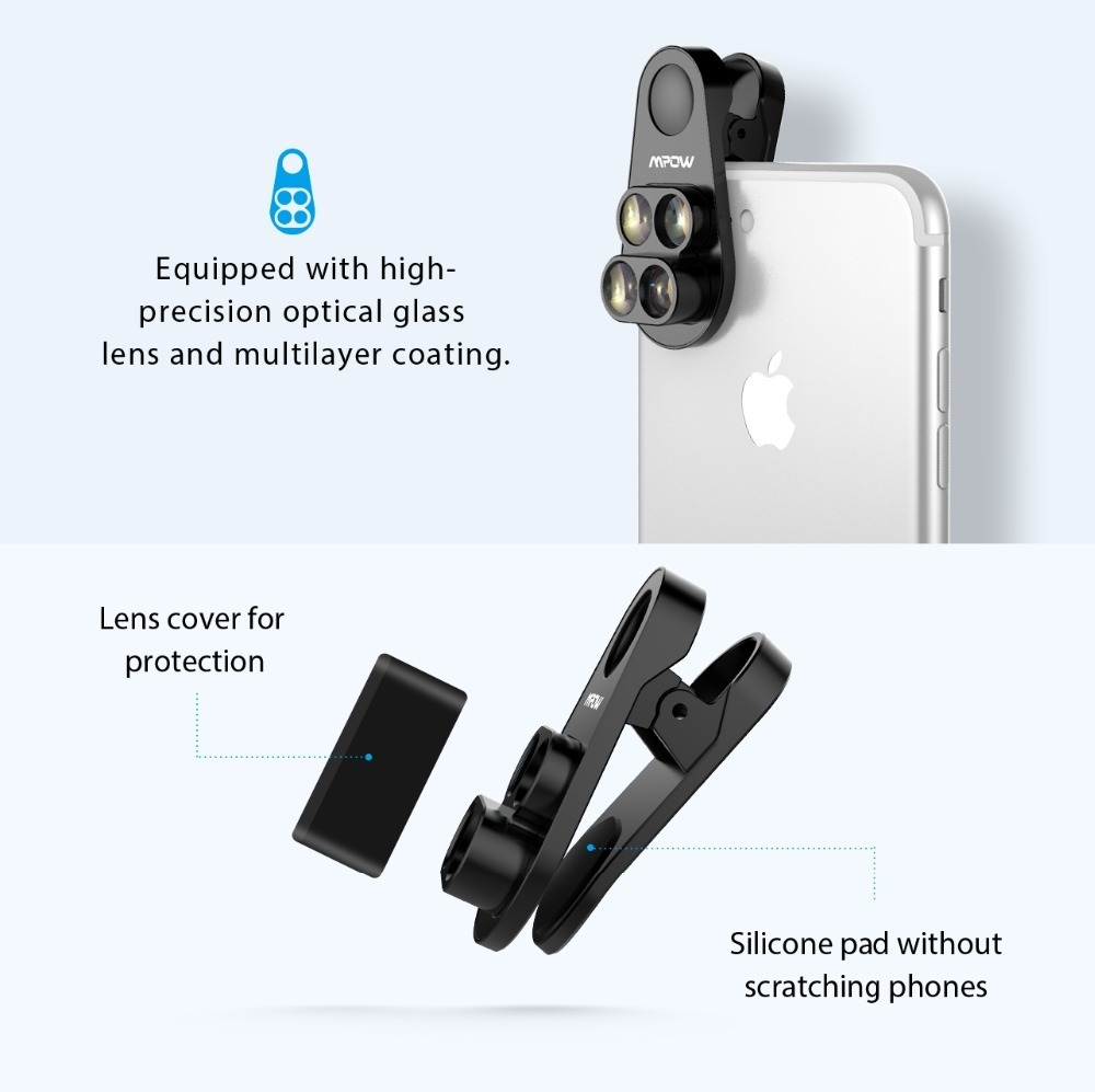 Mpow PA105 Phone Lens for iphone (6)