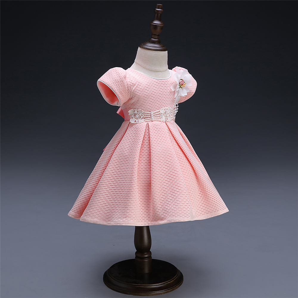 White Baby Dresses Girl Newborn 1st Year Birthday Infant Outfit Cute Princess Party Wedding Christening Dress Gown For Baby Girl (4)