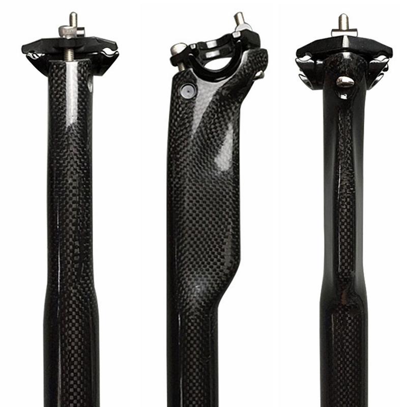 MTB Road Bicycle Carbon Seatposts Bike Parts 25.4//27.2//30.8//31.6*350//400//450mm