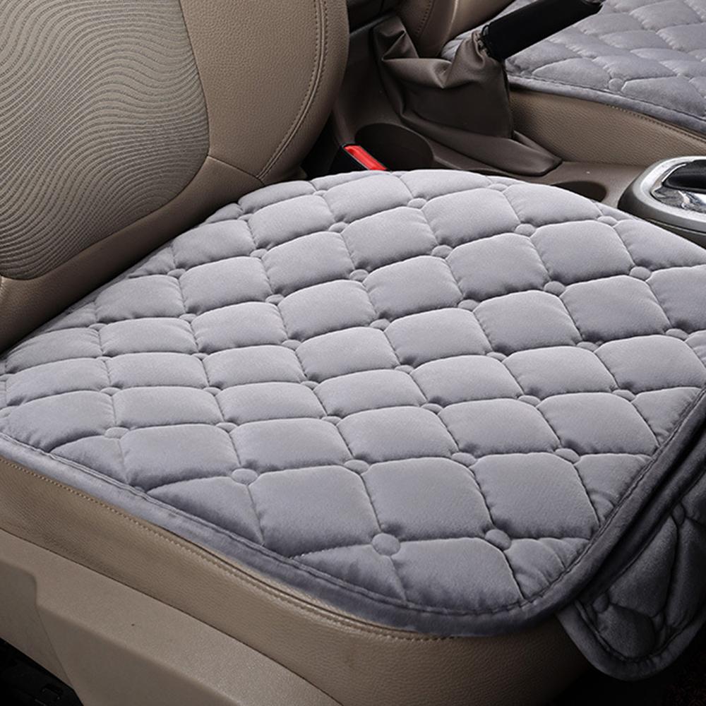Matiz completo conjunto de Cubierta de asiento de coche-Rojo y Negro Paño