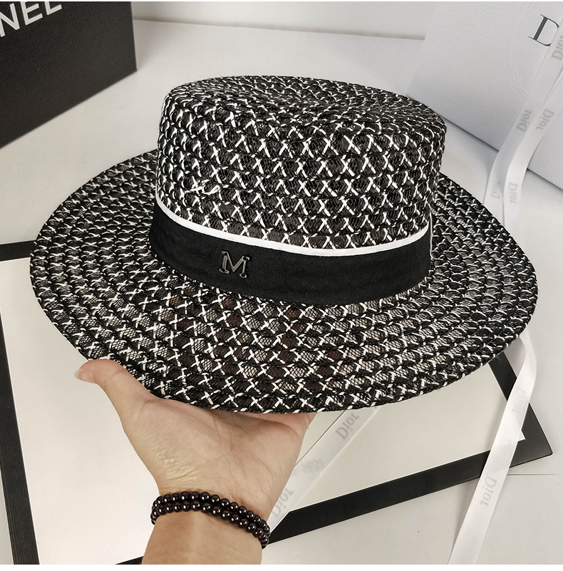 Summer Sunscreen Sunshade On Vacation Hat He Book Wind Leisure Time  Excursion Seaside Sandy Beach Large Eaves Straw Hat Small Bee Sun Hat La  Cap