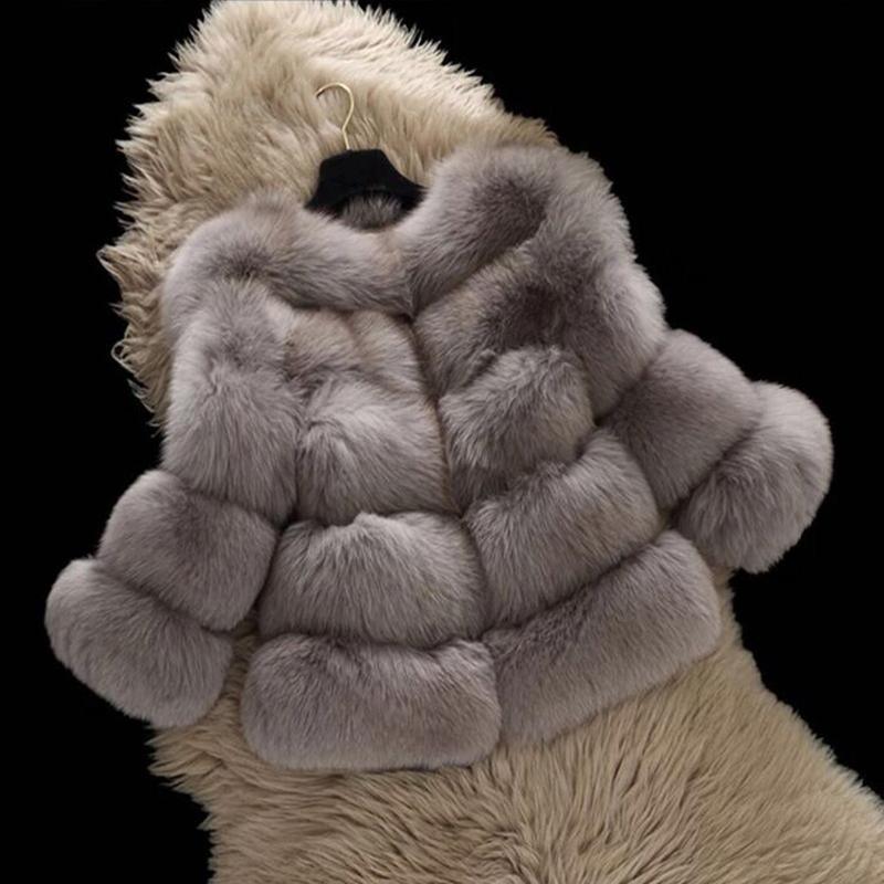 Kaguster Fur Collar Scarf for Women Faux Fur Warm Scarves Shrug for Fall Winter