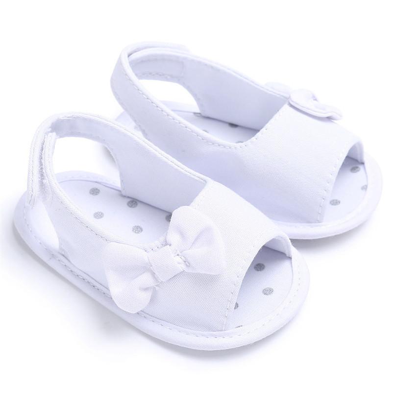 Summer Baby Shoes Newborn Toddler Baby Girl Soft Sole Bowknot First Walker Crib Prewalker Shoes NDA84L24 (13)
