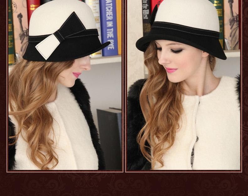 round hat for women