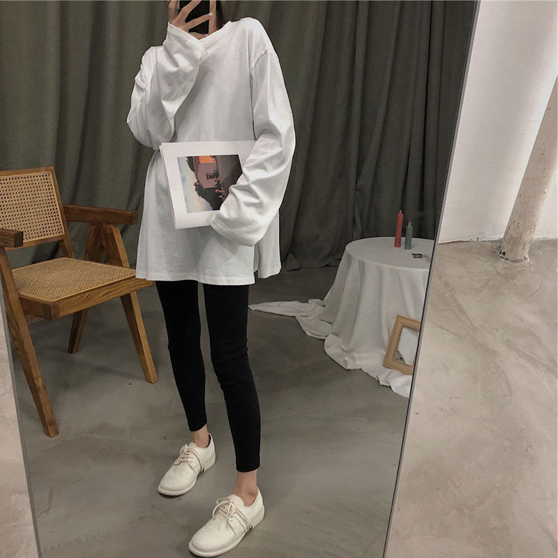 Love2019 And Pattern Korean White Sleeve T Pity Girls Long Easy Joker Rendering Unlined Upper Garment Jacket Suit-dress