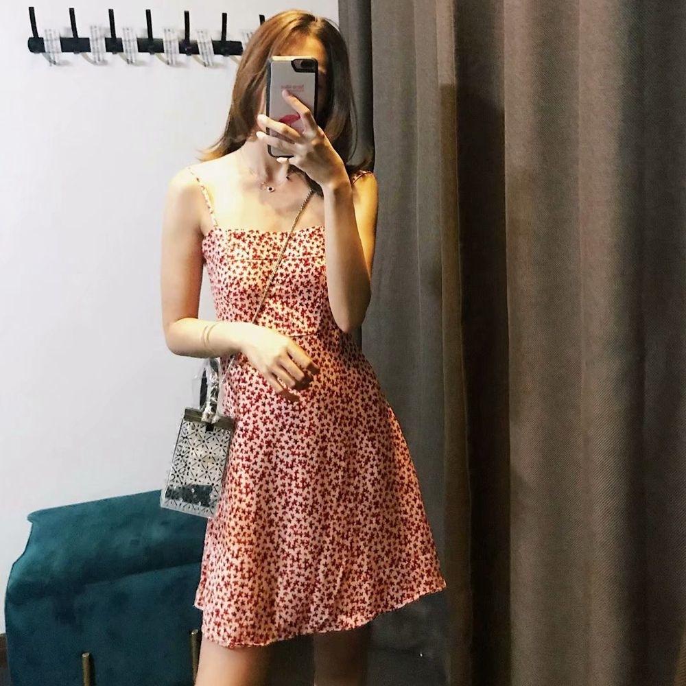 Vestido de las mujeres ropa de verano Backless atractivos de la tela cruzada Cami vestido largo de playa de las mujeres del partido de la vendimia vestido de los vestidos de Corea Moda 2019 Vestidos