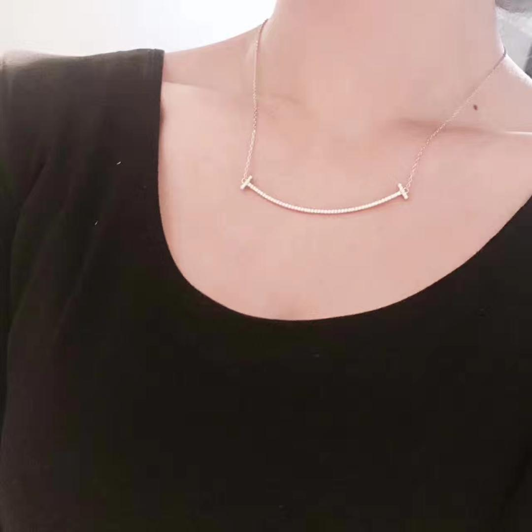 Presente de três linhas de luz colar de prata esterlina colar de moda 925 cadeias de prata venda direta da fábrica Invisible Fish Line Clássico Gargantilha