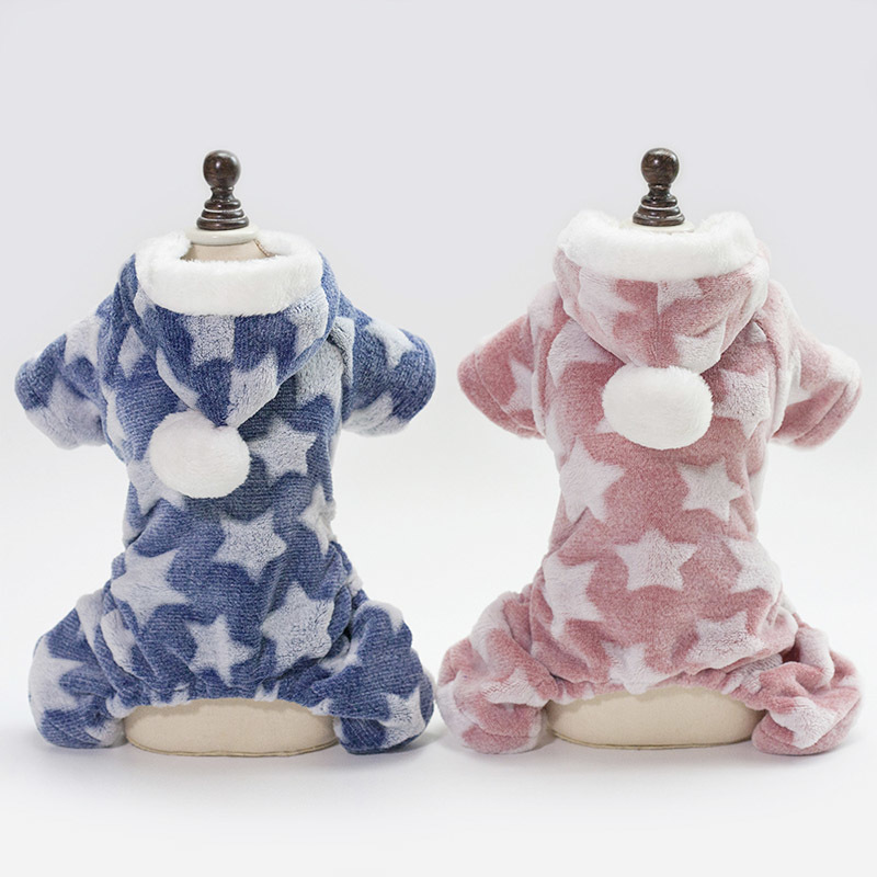 Fleece Pet Dog Clothes For Small Dogs Jumpsuit Winter Pets Dogs Clothing For Dogs Pajamas Pet Coat Chihuahua Clothes Ropa Perro