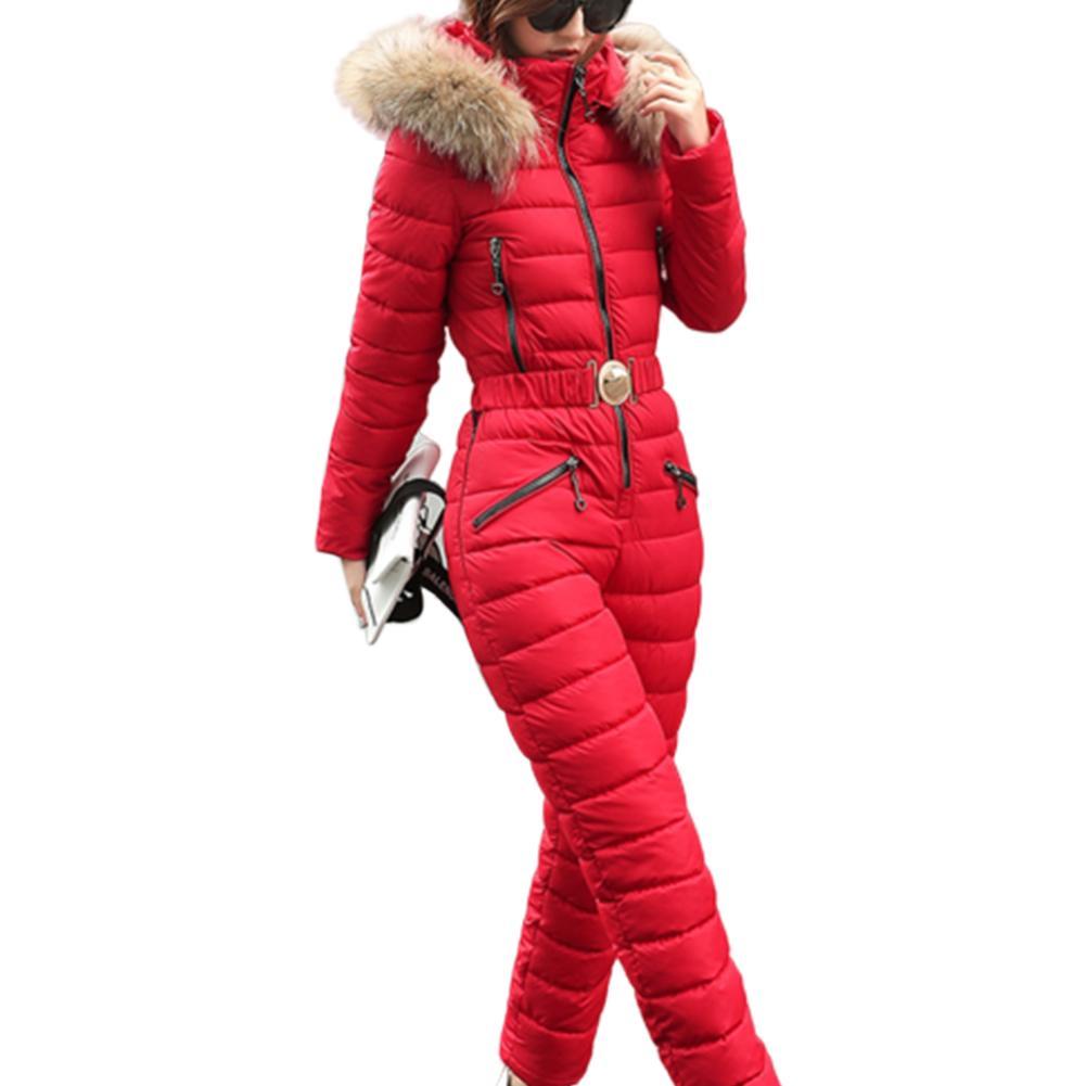 Frauen Winter Schneeanzug-im Freiensport Hosen Skianzug wasserdichter Overall