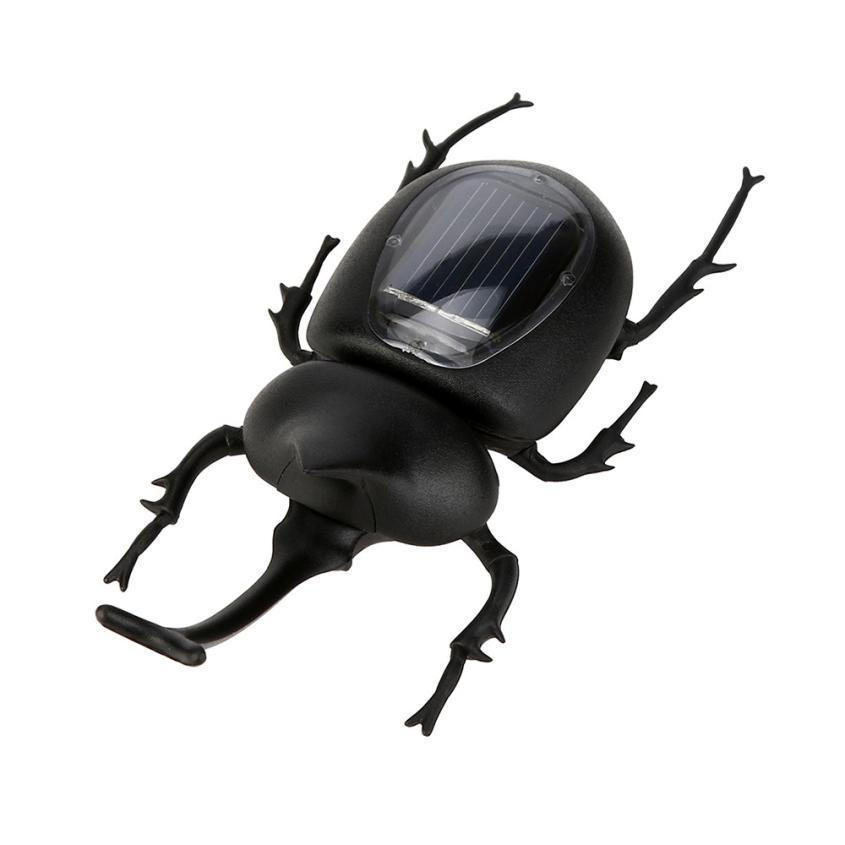 Solar Toys For Kids New Powered Guarding Scarabs Gadget Brain Educational Toys Gadget Insect Toys Dropshipping 2018