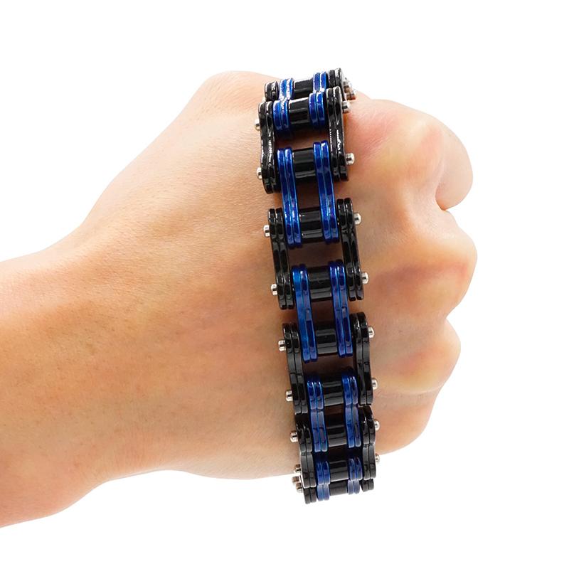 motorcycle chain bracelet 05