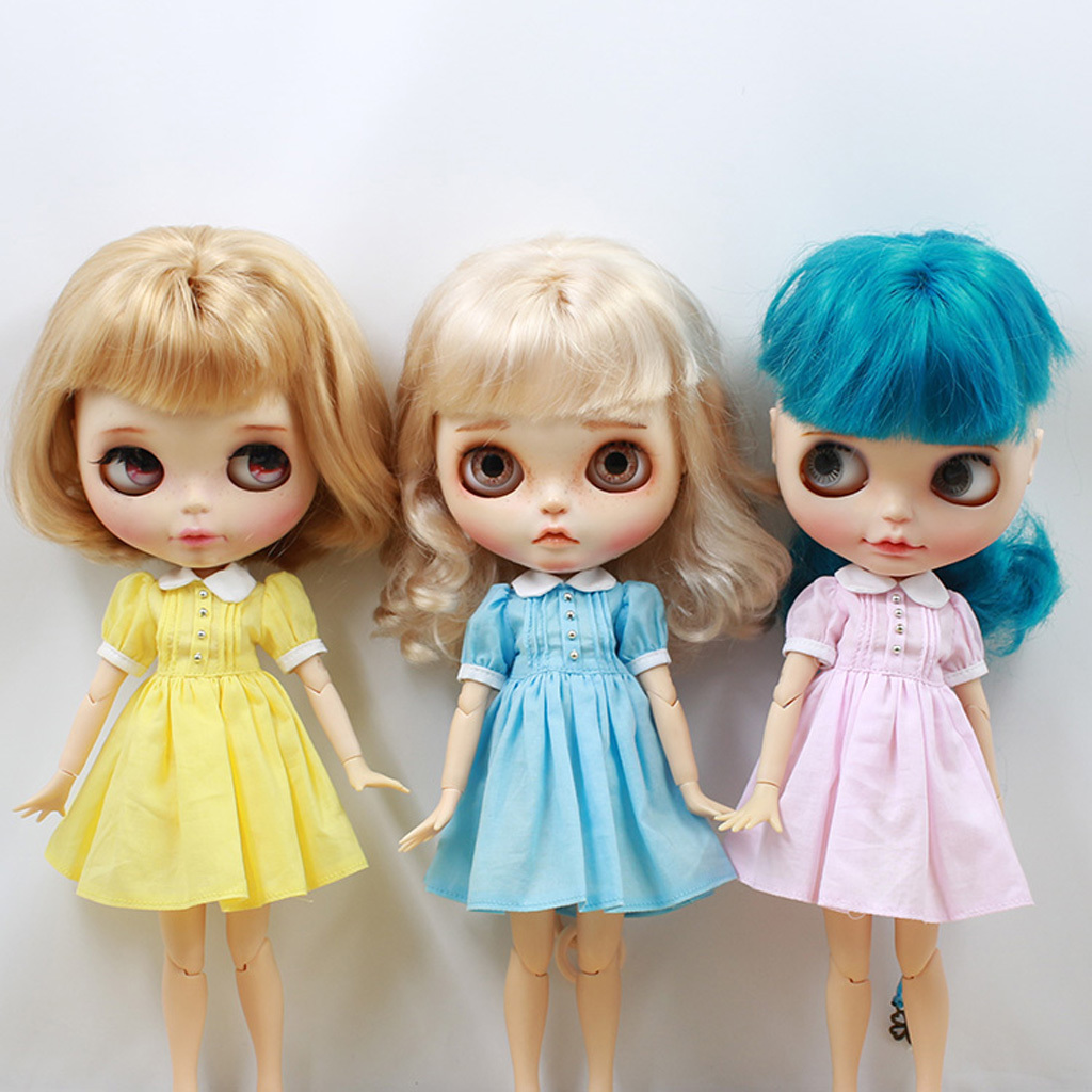 Adorable Doll Sweater for 12/'/' Dolls Accessory for Blythe//Licca//Azone Yellow