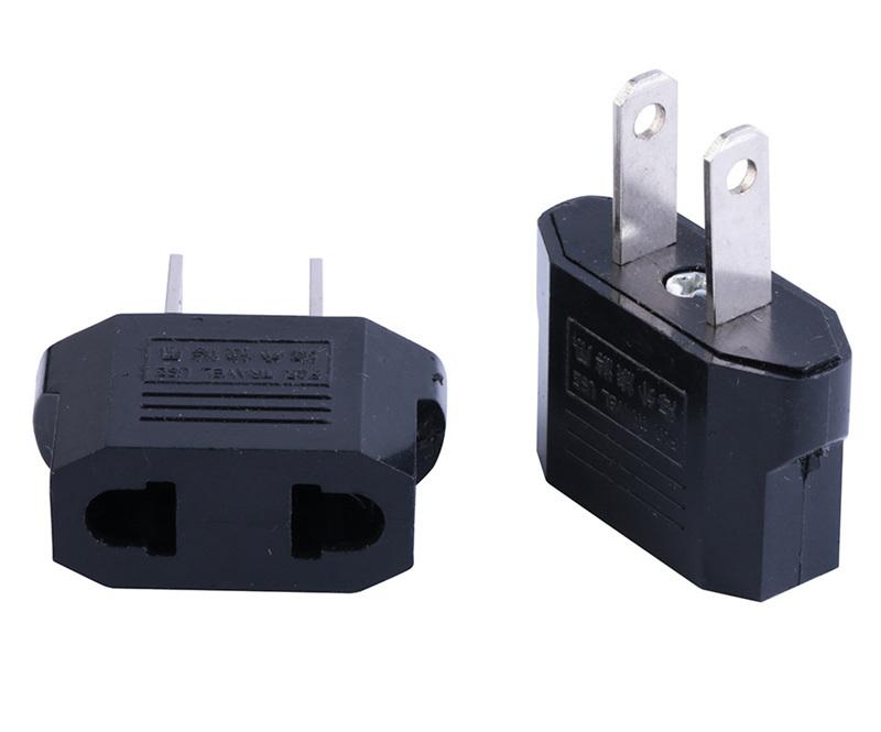 Voyage pivotant à 2 Broches US Plug Wall Sockets Adaptateur d/'alimentation CA prises électriques
