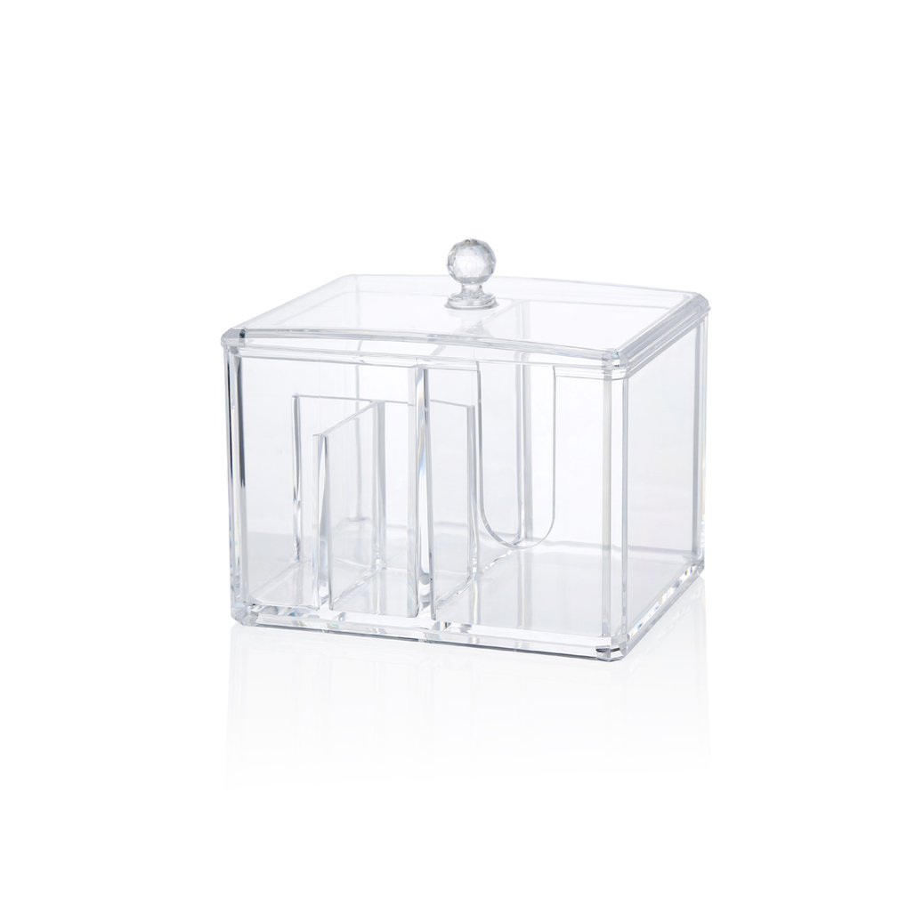 Transparent Makeup Storage Box Acrylic Storage Box Fashion Women Jewelry Organizer Display Box Dropshipping