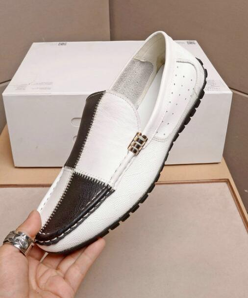 Hishoes Mens Driving Penny Moccasins Tassel Pendant Decor Genuine Leather Slip