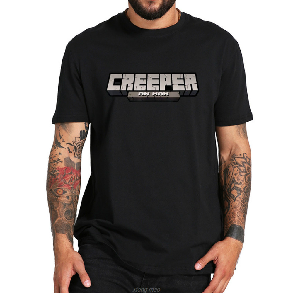 Creeper Aw Man vengeance Lyric jeu amant T-shirt cool