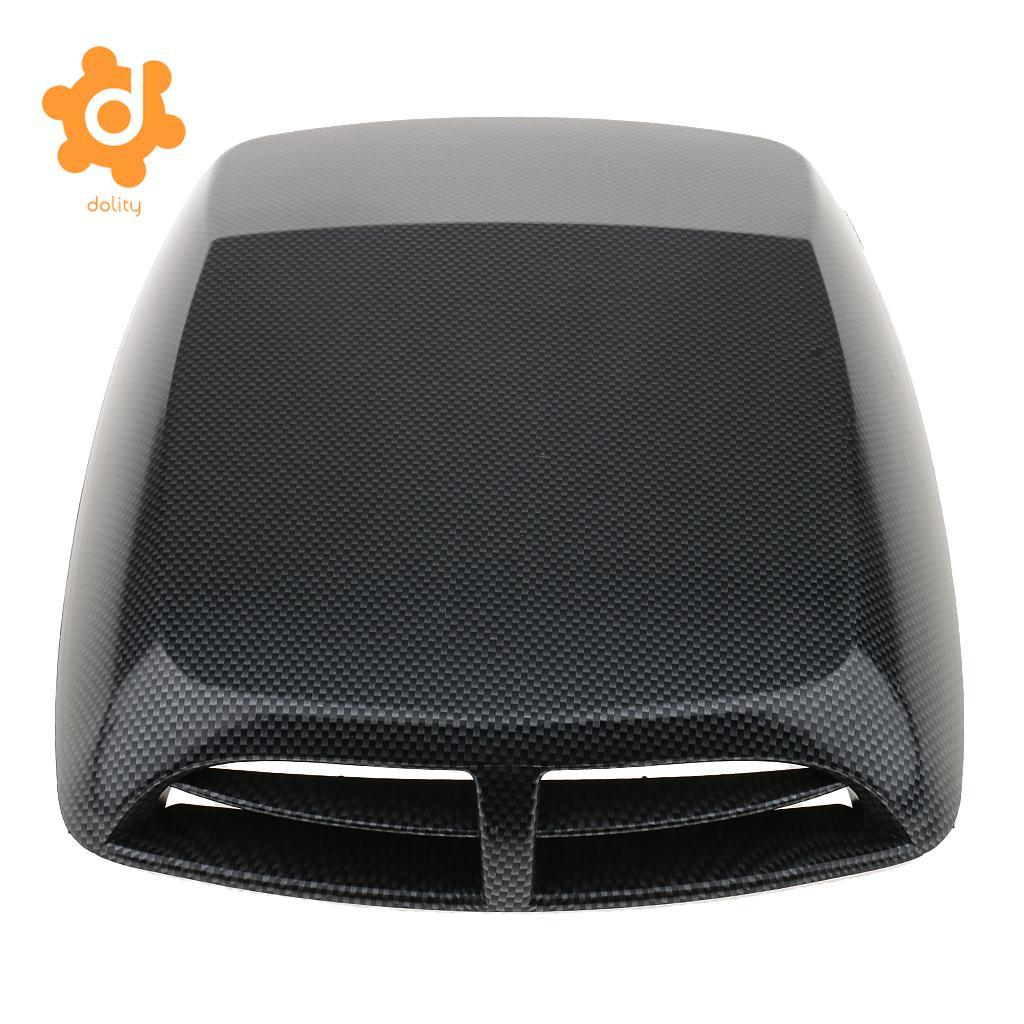 Car Decorative Air Flow Intake Hood Scoop Vent Bonnet Cover Plastic Sticker High quality ABS plastic