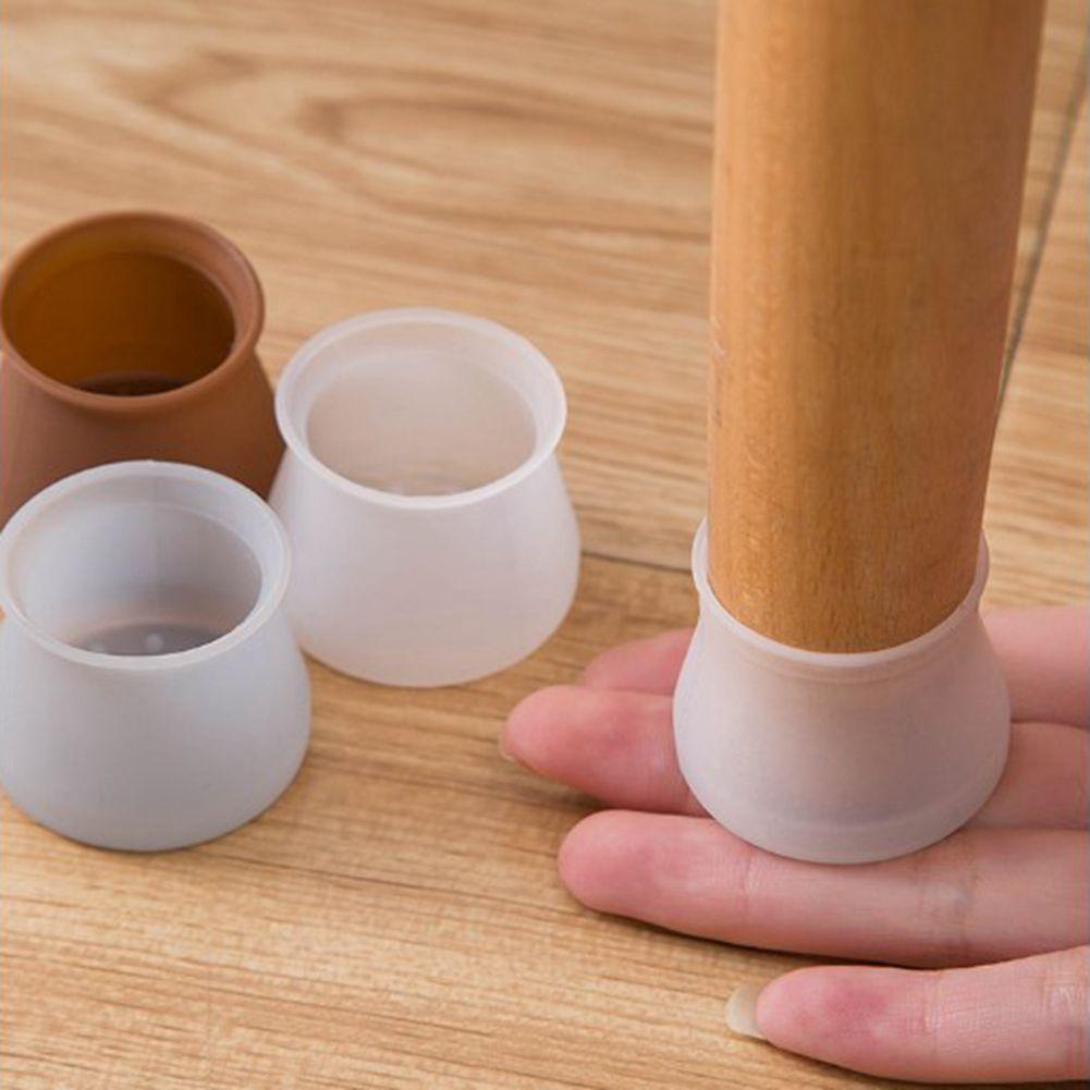4 Stück Möbel Stuhl Gummifuß Abdeckung Tischbein Fussabdeckung Beschuetzer Pads