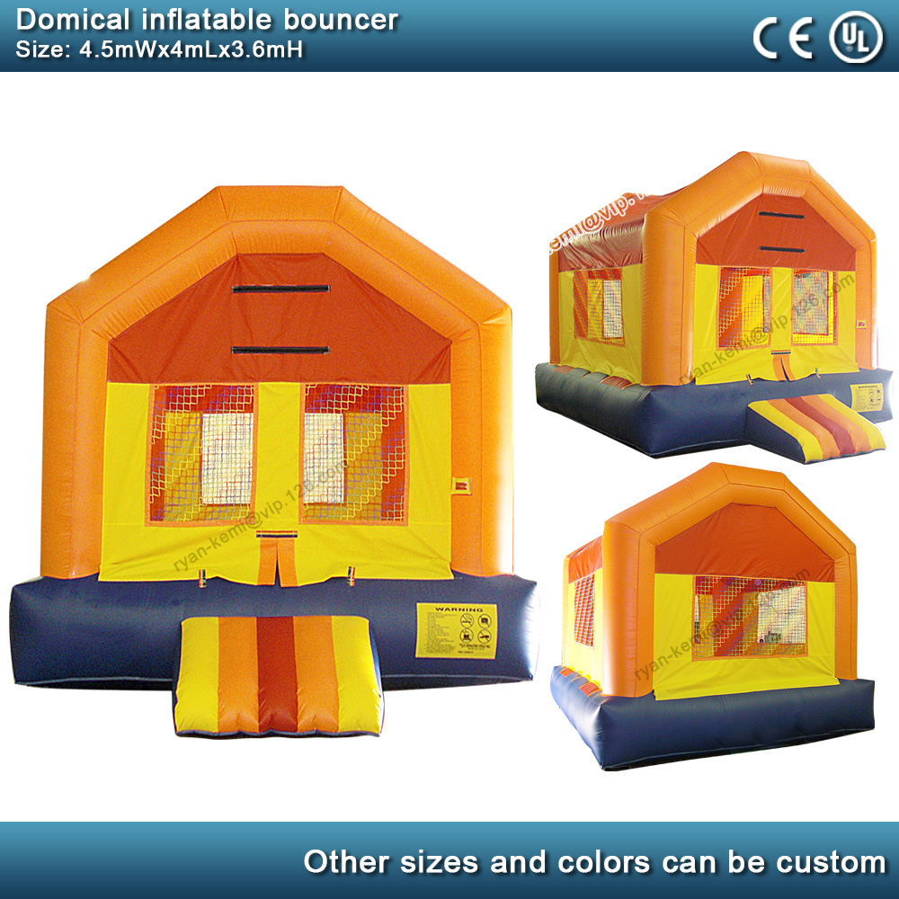 Domical inflatable bouncer commercial inflatable castle kids bounce house party yard inflatable with blower