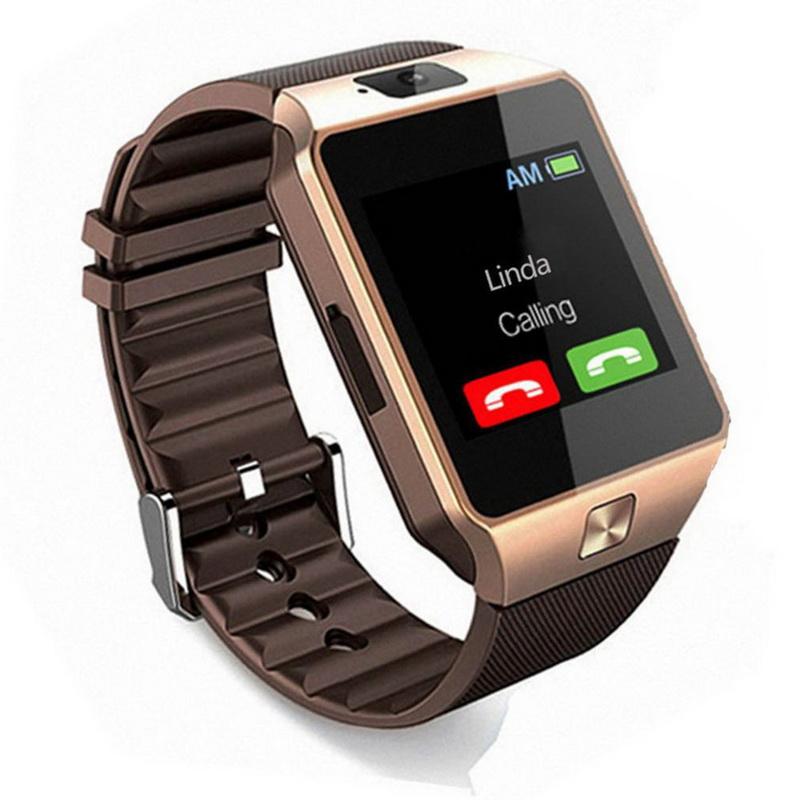 free smart watch men android phone bluetooth watch waterproof camera sim card smartwatch call bracelet watch women dz09