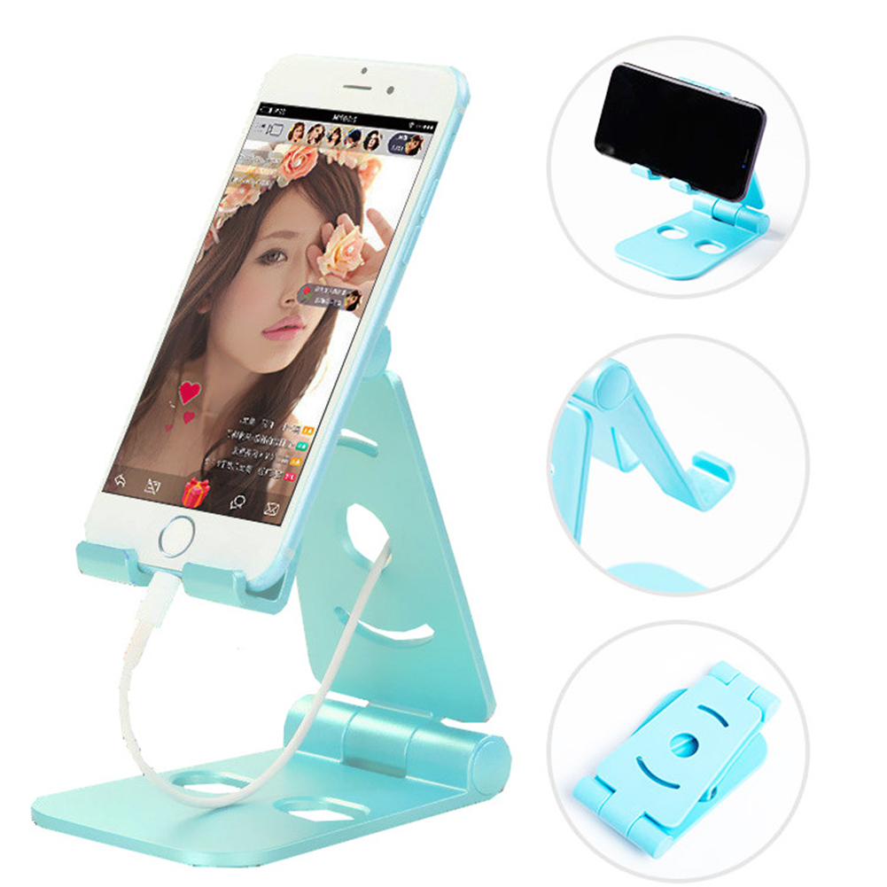 Foldable Swivel Phone Stand Multi Colors For Small/ Big Phones Phone Holder Mobile Smartphone Stand Drop Shipping