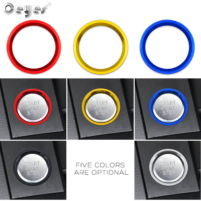 Start Engine Button Ring for AUDI (11)